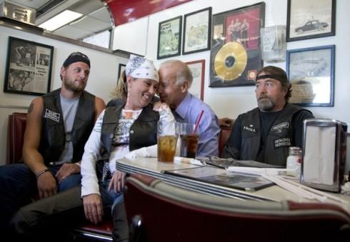 Joe Biden Lap