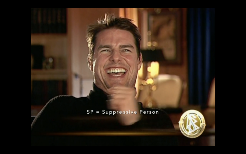 Tom Cruise Scientology Cover Photo