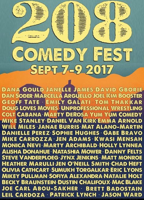 208 Comedy Festival
